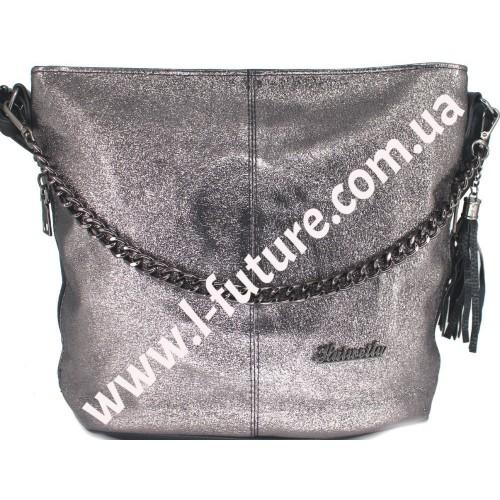 Женская сумка 838-4 Цвет Серебро