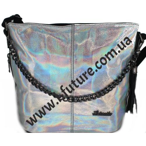 Женская Сумка 838-3 Цвет Серебро