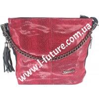 Женская сумка Лазерка Арт. 838-1-2 Цвет Красный