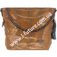 Женская сумка Лазерка Арт. 838-1-2 Цвет Хаки