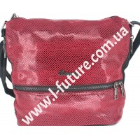 Женская сумка Лазерка Арт. 909 Цвет Красный