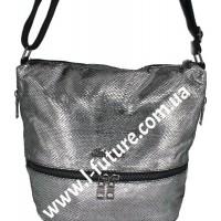 Женская сумка Лазерка Арт. 909 Цвет Серебро