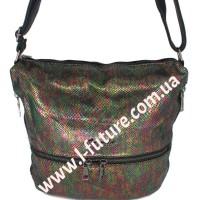 Женская сумка Лазерка Арт. 909 Цвет Зелёный