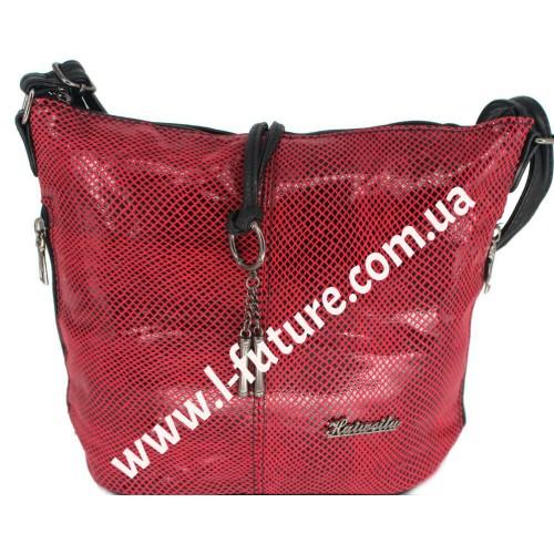 Женская сумка Лазерка Арт. 838 Цвет Красный