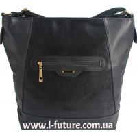 Женская сумка Лазерка арт.858.Цвет Чёрный