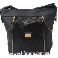 Женская сумка Лазерка арт.857.Цвет Чёрный
