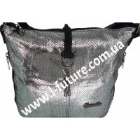 Женская сумка Лазерка Арт. 838 Цвет Серебро