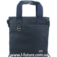 Мужская сумка Арт. 86-2 Цвет Синий