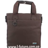 Мужская сумка Арт. 86-2 Цвет Коричневый