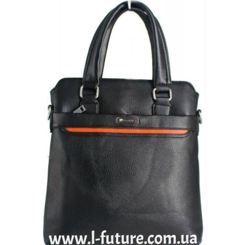 Мужская сумка Арт. 6018-2 Цвет Чёрный ID-684