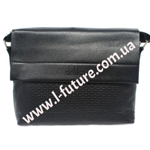 Мужская сумка арт. 713 Цвет Чёрный ID-442