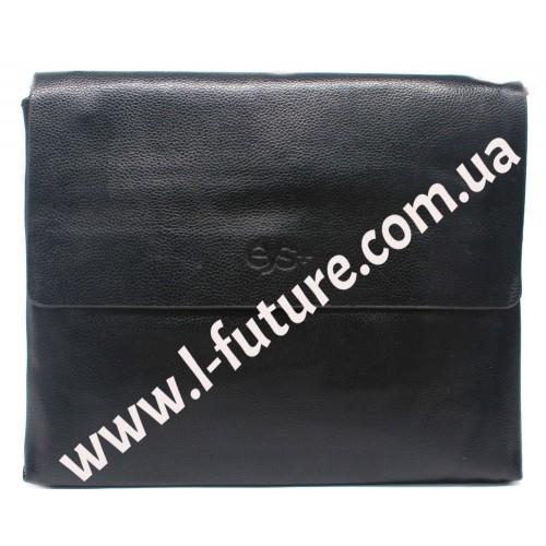 Мужская сумка арт.2015-6 Цвет Чёрный ID-404
