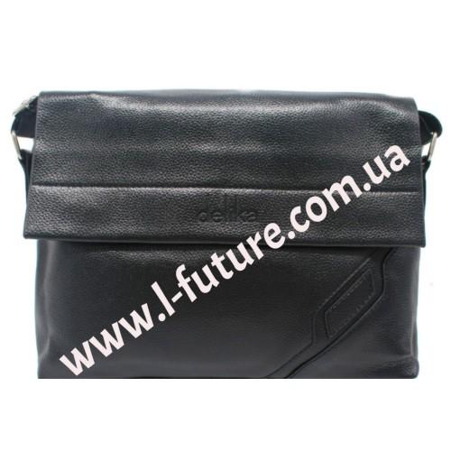 Мужская сумка арт. 613-2 Цвет Чёрный ID-441