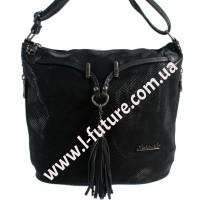 Женская сумка Лазерка Арт. 840 Цвет Чёрный