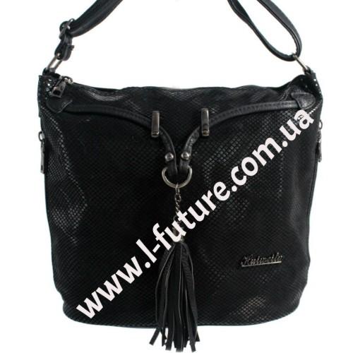 Женская сумка Лазерка Арт. 840 Цвет Чёрный ID-515