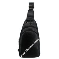 Мужская сумка через плечо Арт. 3620 Цвет Чёрный