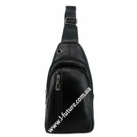 Мужская сумка через плечо Арт. 3621 Цвет Чёрный