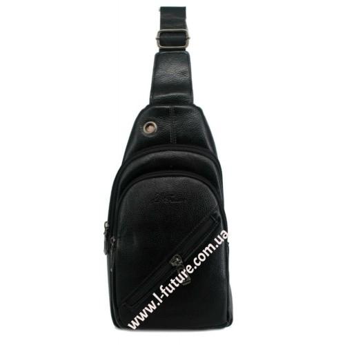 Мужская сумка через плечо Арт. 3622 Цвет Чёрный