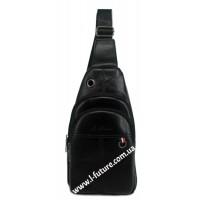 Мужская сумка через плечо Арт. 3623 Цвет Чёрный