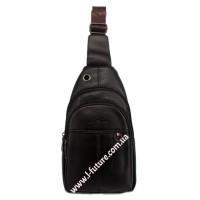 Мужская сумка через плечо Арт. 3623 Цвет Коричневый