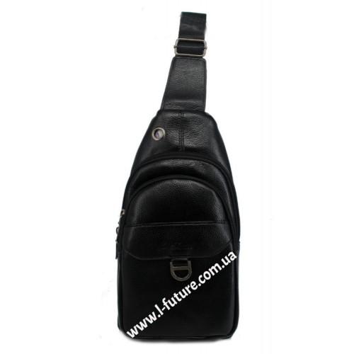 Мужская сумка через плечо Арт. 3624 Цвет Чёрный