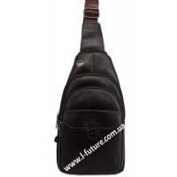 Мужская сумка через плечо Арт. 3624 Цвет Коричневый