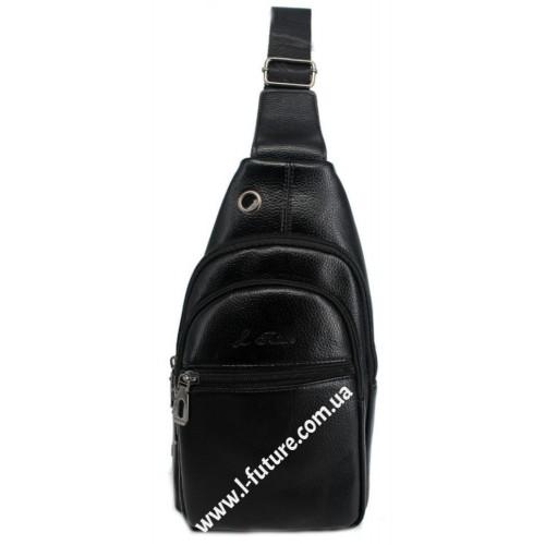 Мужская сумка через плечо Арт. 3625 Цвет Чёрный