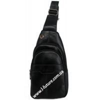 Мужская сумка через плечо Арт. 3626 Цвет Чёрный