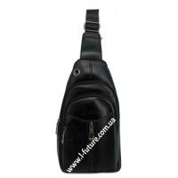 Мужская сумка через плечо Арт. 3628 Цвет Чёрный