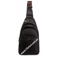 Мужская сумка через плечо Арт. 3628 Цвет Коричневый
