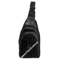 Мужская сумка через плечо Арт. 3629 Цвет Чёрный