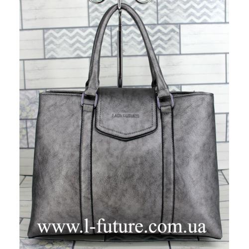 Женская Сумка Арт. F 8146 Цвет Серебро