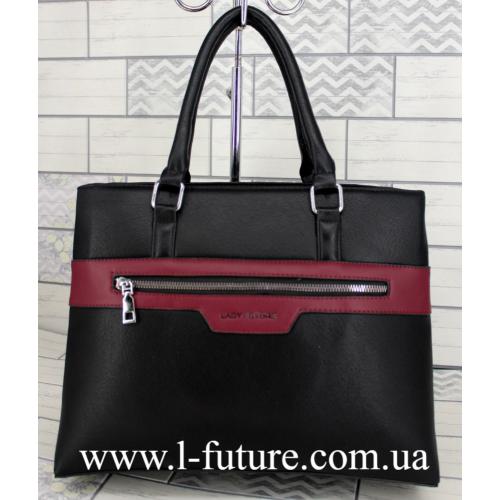 Женская Сумка Арт. F 8147 Цвет Чёрный