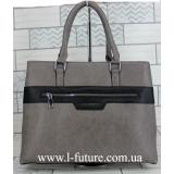 Женская Сумка Арт. F 8147 Цвет Серый