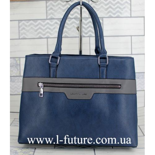Женская Сумка Арт. F 8147 Цвет Синий