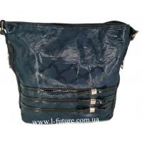 Женская сумка Лазерка Арт. 915-1 Цвет Синий