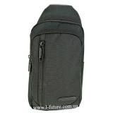 Мужская сумка через плечо Арт. 6918 Цвет Чёрный