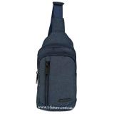Мужская сумка через плечо Арт. 6918 Цвет Синий