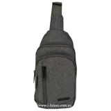 Мужская сумка через плечо Арт. 6918 Цвет Серый