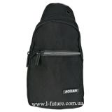 Мужская сумка через плечо Арт. 8290 Цвет Чёрный
