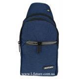 Мужская сумка через плечо Арт. 8290 Цвет Синий