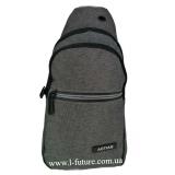 Мужская сумка через плечо Арт. 8290 Цвет Серый