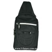 Мужская сумка через плечо Арт.0680 Цвет Чёрный
