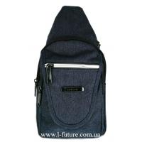Мужская сумка через плечо Арт.0680 Цвет Синий