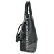 Женская Сумка Арт.8005 Цвет Чёрный С Серым