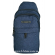 Мужская сумка через плечо Арт. 6917 Цвет Синий