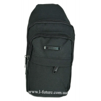 Мужская сумка через плечо Арт. 6917 Цвет Чёрный